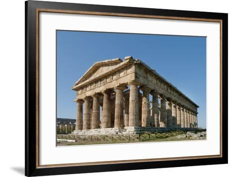 Hera, Paestum, Campania, Tyrrhenian Coast, Italy-Design Pics Inc-Framed Art Print