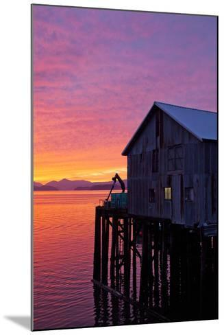 A Fish House over the Water-Michael Hanson-Mounted Photographic Print