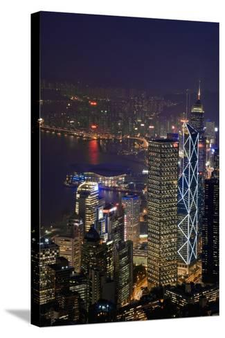 Cityscape and Causeway Bay-Design Pics Inc-Stretched Canvas Print