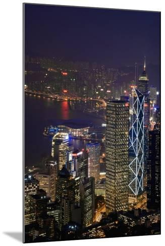 Cityscape and Causeway Bay-Design Pics Inc-Mounted Photographic Print