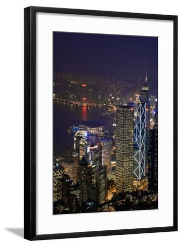 Cityscape and Causeway Bay-Design Pics Inc-Framed Art Print