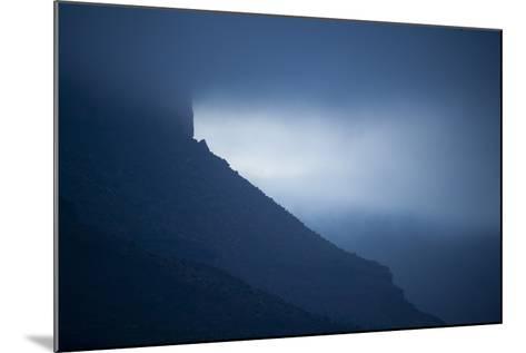 Dusk at Castleton Tower, Castle Valley, Utah-Keith Ladzinski-Mounted Photographic Print