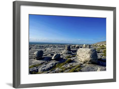 Black Head in the Burren, a Karst Formation in County Clare, Ireland-Chris Hill-Framed Art Print