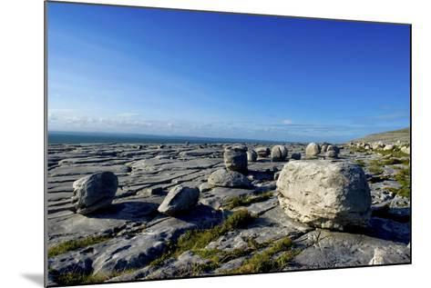 Black Head in the Burren, a Karst Formation in County Clare, Ireland-Chris Hill-Mounted Photographic Print