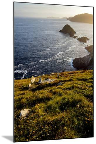 Blasket Islands from Dunmore Head, Dingle, Co. Kerry, Ireland-Chris Hill-Mounted Photographic Print