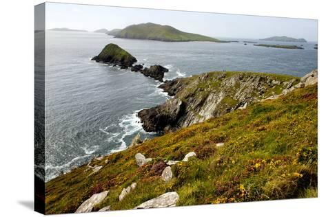 Blasket Islands from Dunmore Head, Dingle, Co. Kerry, Ireland-Chris Hill-Stretched Canvas Print