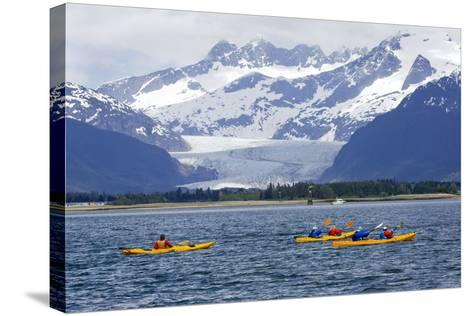 Sea Kayakers-Design Pics Inc-Stretched Canvas Print