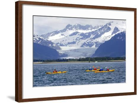 Sea Kayakers-Design Pics Inc-Framed Art Print