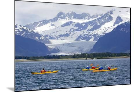Sea Kayakers-Design Pics Inc-Mounted Photographic Print