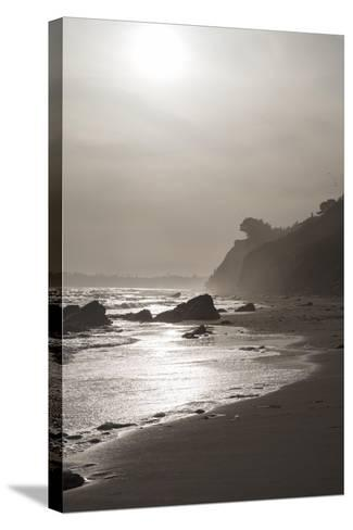 A View of the Coastline at Sunset Near Arroyo Burro Beach-Macduff Everton-Stretched Canvas Print
