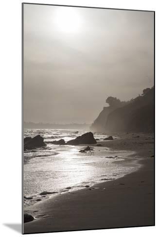 A View of the Coastline at Sunset Near Arroyo Burro Beach-Macduff Everton-Mounted Photographic Print