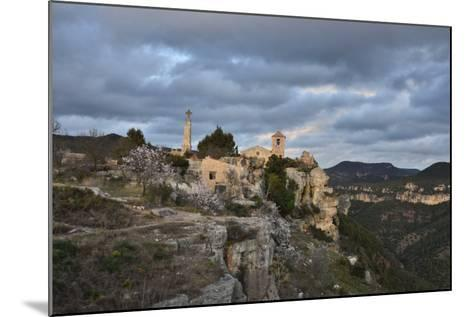 Sunset at the Village of Siurana, Spain-Keith Ladzinski-Mounted Photographic Print