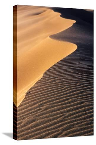 A Sand Dune at Sunset, Great Sand Dunes National Park and Preserve, Colorado-Keith Ladzinski-Stretched Canvas Print