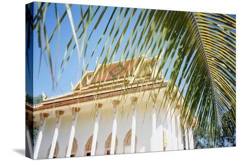 New Temple, Phum Prasat-Design Pics Inc-Stretched Canvas Print