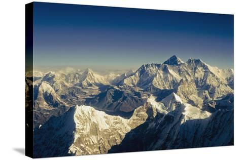 View from Everest-Design Pics Inc-Stretched Canvas Print