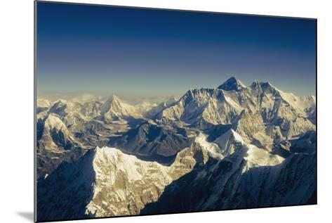 View from Everest-Design Pics Inc-Mounted Photographic Print