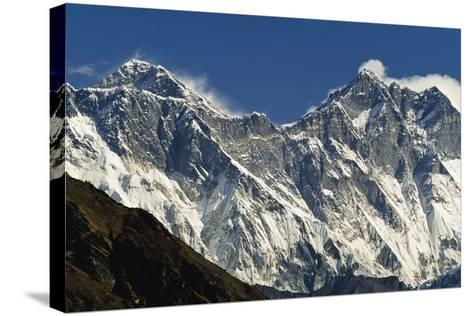 View of Everest-Design Pics Inc-Stretched Canvas Print