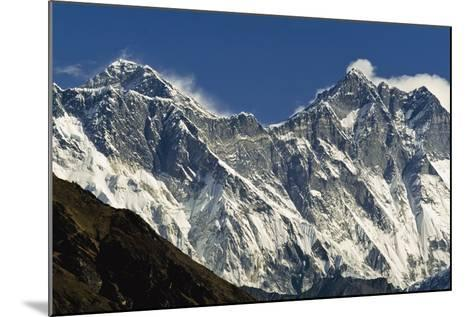View of Everest-Design Pics Inc-Mounted Photographic Print