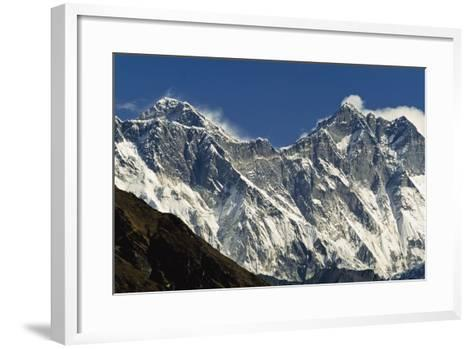 View of Everest-Design Pics Inc-Framed Art Print