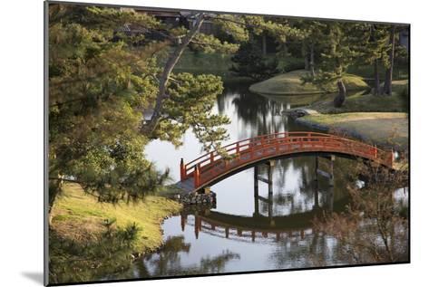 A Footbridge over Water in a Garden-Macduff Everton-Mounted Photographic Print