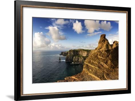 Cliffs of Moher, County Clare, Ireland-Chris Hill-Framed Art Print