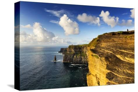 Cliffs of Moher, County Clare, Ireland-Chris Hill-Stretched Canvas Print