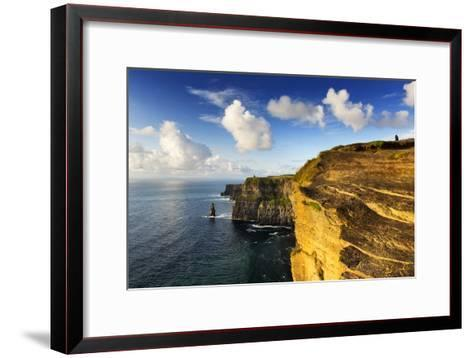 Cliffs of Moher, County Clare, Ireland-Chris Hill-Framed Art Print