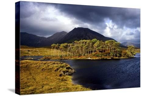 Derryclare Lough in Connemara, Ireland-Chris Hill-Stretched Canvas Print
