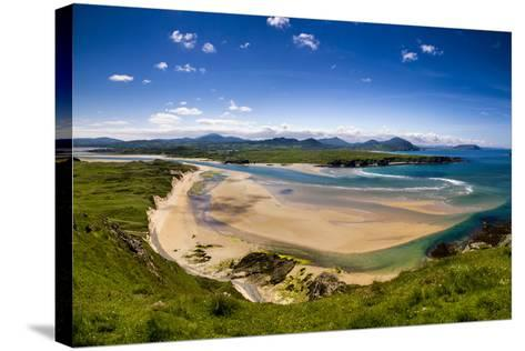 Five Finger Strand in Donegal, Ireland-Chris Hill-Stretched Canvas Print