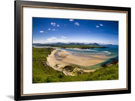 Five Finger Strand in Donegal, Ireland-Chris Hill-Framed Art Print