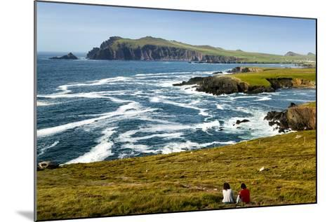 Sybil Head over Cloghter Bay in Kerry, Ireland-Chris Hill-Mounted Photographic Print