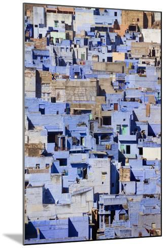 Blue Buildings of Jodhpur, Aerial View-Design Pics Inc-Mounted Photographic Print