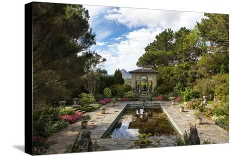 Italian Garden at Garnish Island in Glengarriff, County Cork-Chris Hill-Stretched Canvas Print
