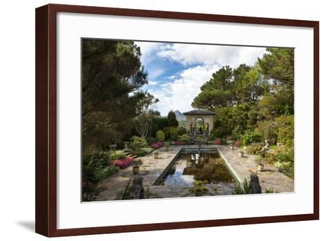 Italian Garden at Garnish Island in Glengarriff, County Cork-Chris Hill-Framed Art Print