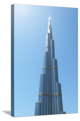 Detail of the Burj Khalifa; Dubai, United Arab Emirates-Design Pics Inc-Stretched Canvas Print