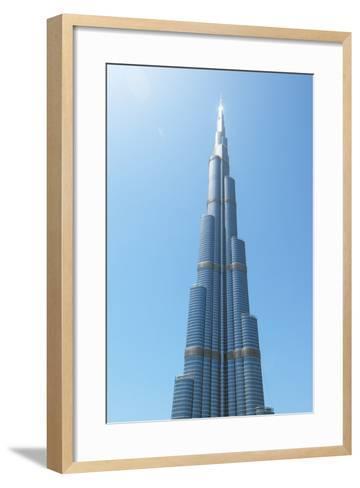 Detail of the Burj Khalifa; Dubai, United Arab Emirates-Design Pics Inc-Framed Art Print