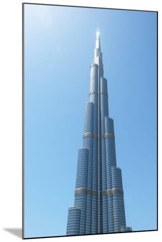Detail of the Burj Khalifa; Dubai, United Arab Emirates-Design Pics Inc-Mounted Photographic Print