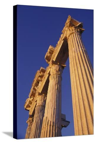 Classical Column, Low Angle View-Design Pics Inc-Stretched Canvas Print