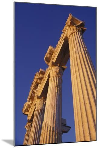 Classical Column, Low Angle View-Design Pics Inc-Mounted Photographic Print