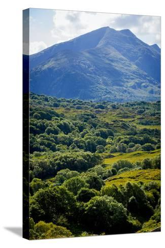 Looking over to Cana Mountains, Beara, County Kerry-Chris Hill-Stretched Canvas Print