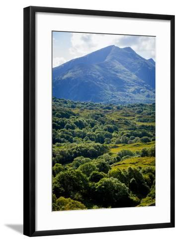 Looking over to Cana Mountains, Beara, County Kerry-Chris Hill-Framed Art Print