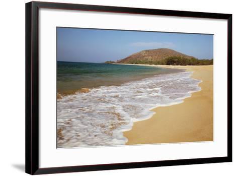 Hawaii, Maui, Makena, Big Beach on a Sunny Day-Design Pics Inc-Framed Art Print