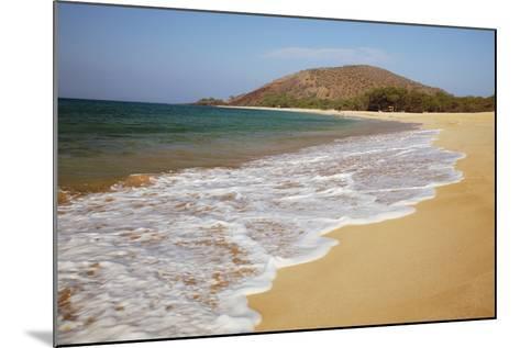 Hawaii, Maui, Makena, Big Beach on a Sunny Day-Design Pics Inc-Mounted Photographic Print