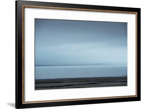 Auigstabutka Ice Along Western Coast of Nordaustlandet, Svalbard, Norway-Michael Melford-Framed Art Print