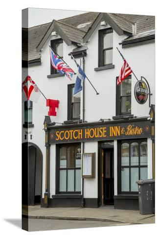 The Scotch House Inn and Bistro in Bushmills-Tim Thompson-Stretched Canvas Print