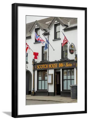 The Scotch House Inn and Bistro in Bushmills-Tim Thompson-Framed Art Print