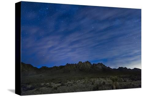The Organ Mountains in Southern New Mexico-Michael Melford-Stretched Canvas Print