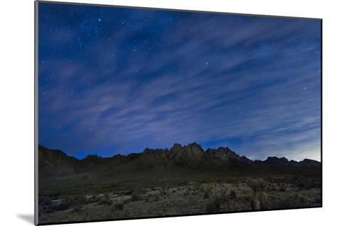 The Organ Mountains in Southern New Mexico-Michael Melford-Mounted Photographic Print