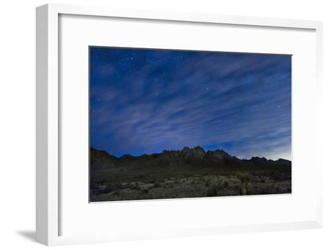 The Organ Mountains in Southern New Mexico-Michael Melford-Framed Art Print