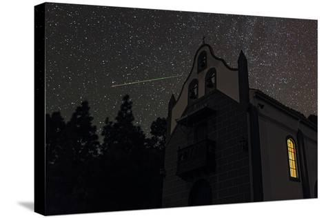 A Colorful Meteor Streaks the Sky in Ursa Minor-Babak Tafreshi-Stretched Canvas Print